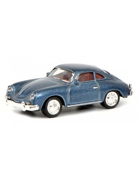 Schuco Porsche 356 Coupe, blauw