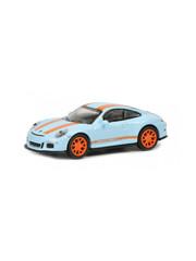 Schuco Porsche 911 R, blauw-oranje