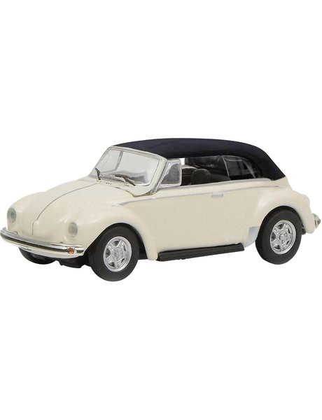 Schuco VW Kever Cabrio, wit