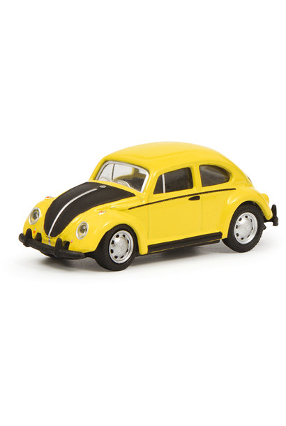 VW Kever, geel-zwart