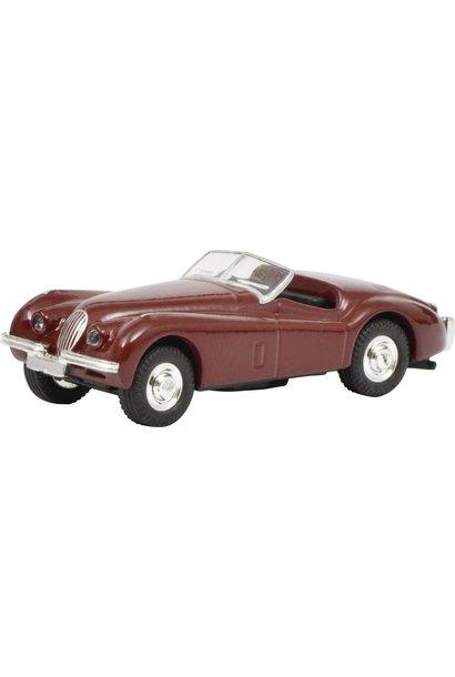 Jaguar XK 120, rood