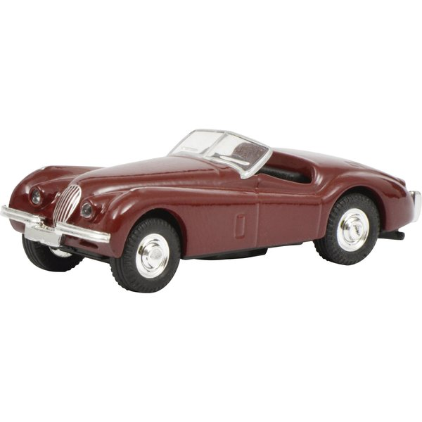 Schuco Jaguar XK 120, rood