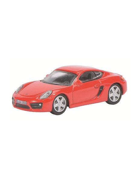 Schuco Porsche Cayman S, rood