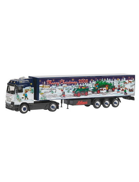 Schuco Mercedes Benz Actros Merry Christmas '08