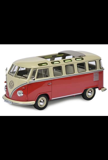 VW T1b Samba, rood-beige
