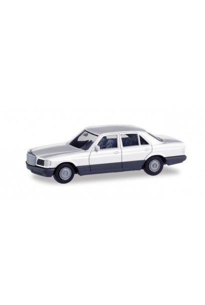 Mercedes Benz S Klasse (W126), wit (Minikit)