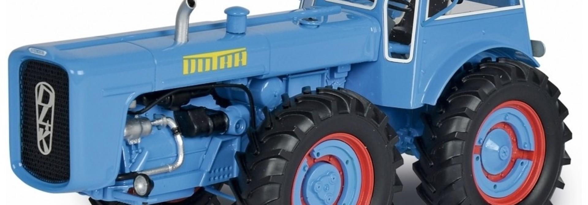 Dutra D4K + Cabine, blauw