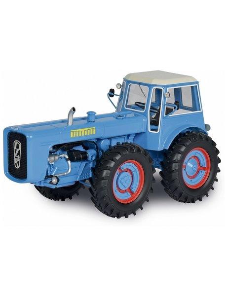 Schuco Dutra D4K + Cabine, blauw