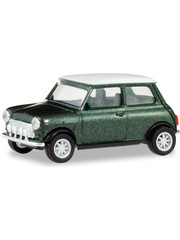 Herpa Mini Cooper British racing green metallic