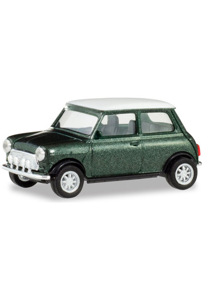 Mini Cooper British racing green metallic