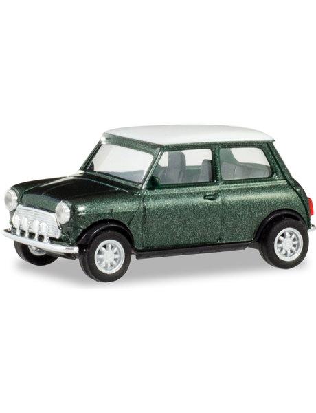 Herpa Mini Cooper British racing green metallic