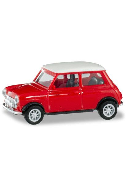 Mini Cooper, rood