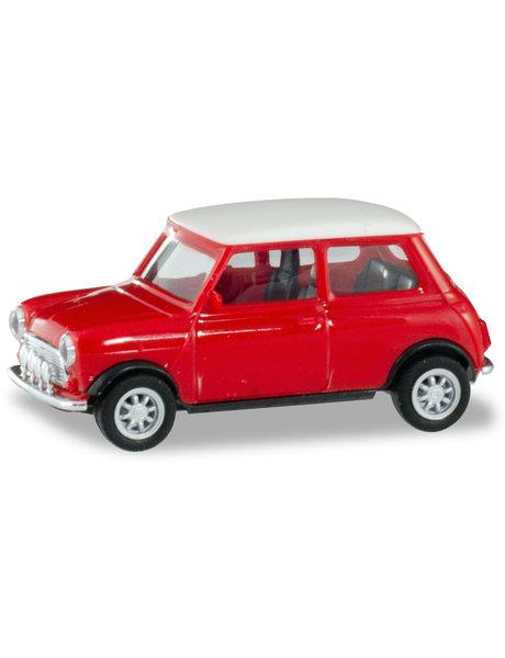 Herpa Mini Cooper, rood