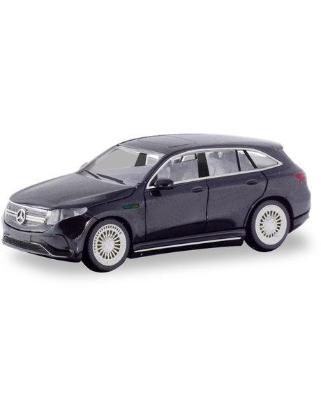 Herpa Mercedes Benz EQC AMG, zwart