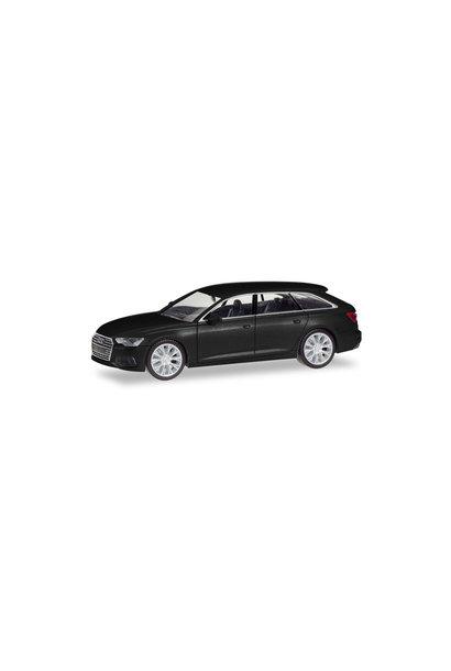 Audi A6 Avant, zwart