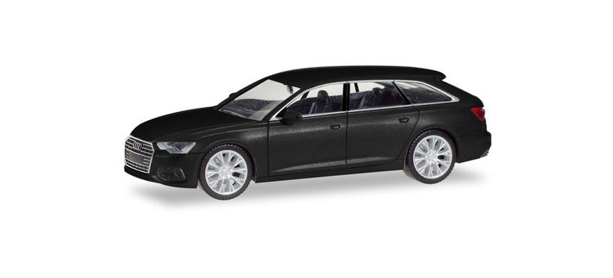 Audi A6 Avant, zwart-1