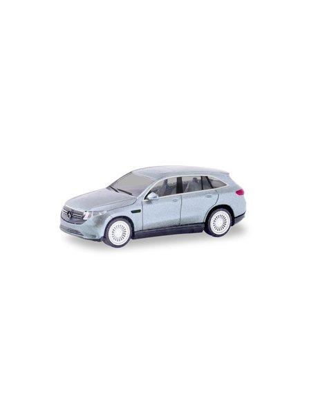 Herpa Mercedes Benz EQC AMG, zilver metallic
