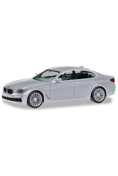 BMW 5 Limo, zilver metallic