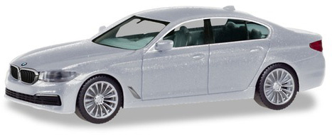 BMW 5 Limo, zilver metallic-1