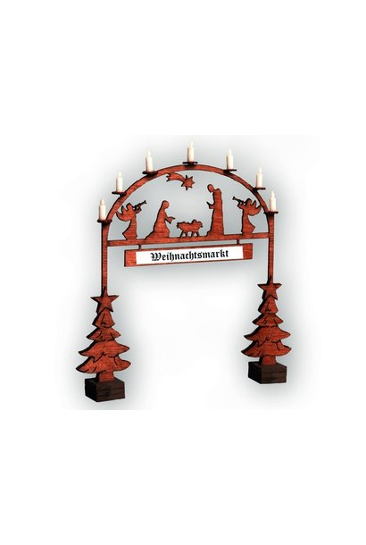 14681 Christmas Market Entry Arch