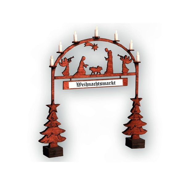 NOCH 14681 Christmas Market Entry Arch
