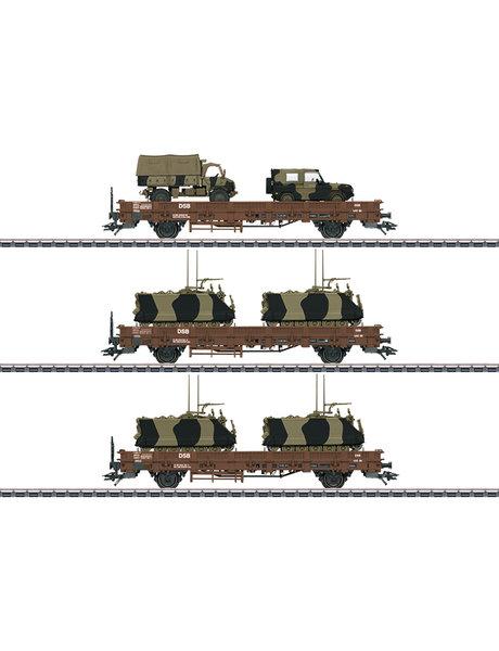 Märklin 46934 Niederbordwagenset DSB