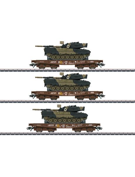 Märklin 48795 Schwerlastwagen-Set mit Leopard 1A5