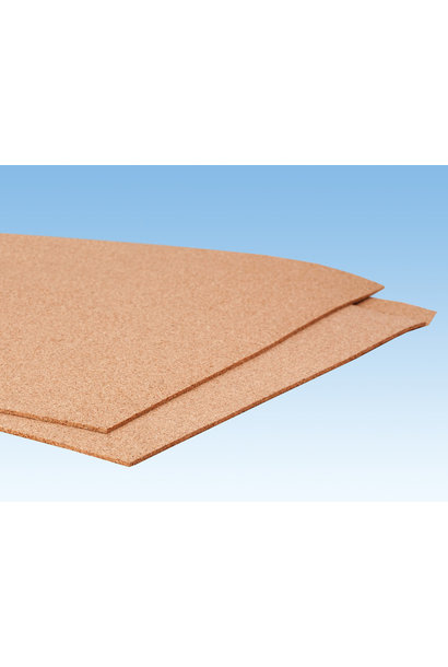 50496 Kork-Platte, 2 mm hoch