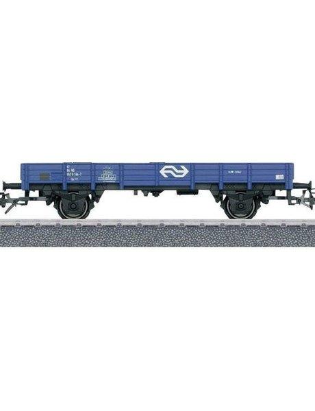 Märklin 44710.001 platte goederenwagen van de NS