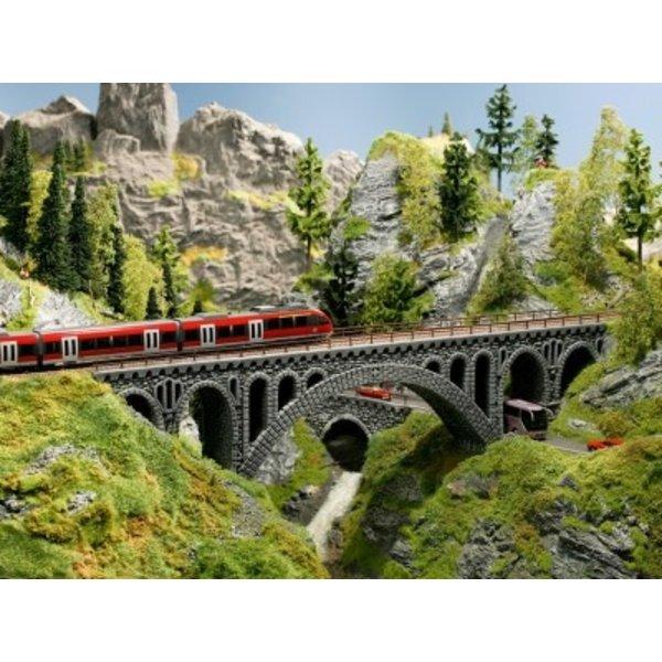 NOCH   58669                Brückenpfeiler Bruchstein-Viadukt