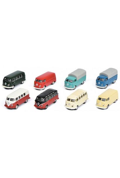 8 delige set Volkswagen T1 HO