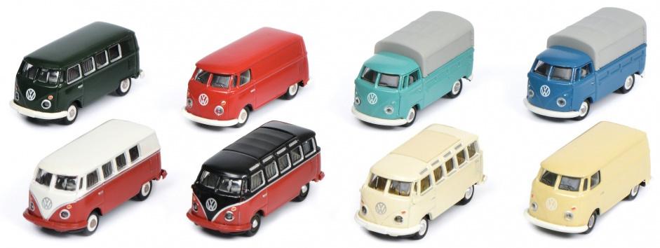 8 delige set Volkswagen T1 HO-1