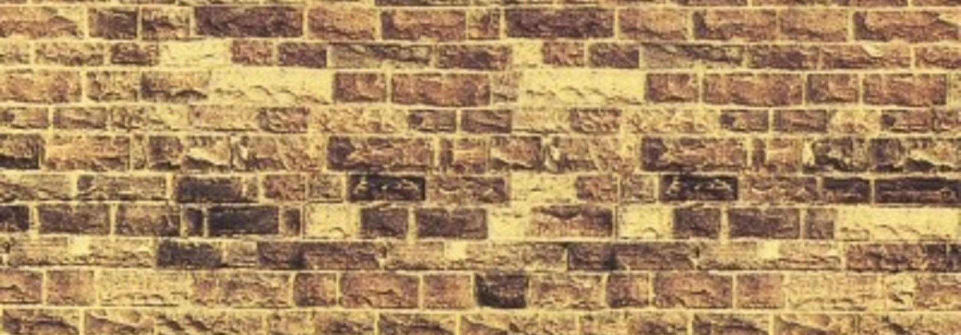 """57750                Mauerplatte """"Sandstein"""""""