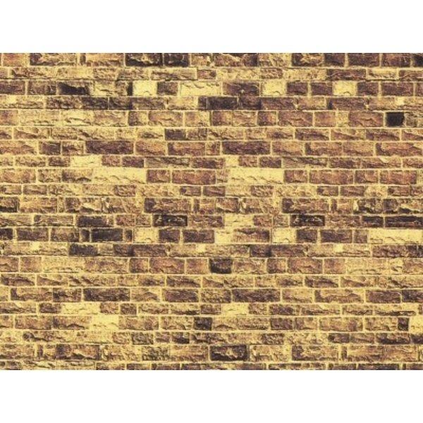 """NOCH    57750                Mauerplatte """"Sandstein"""""""