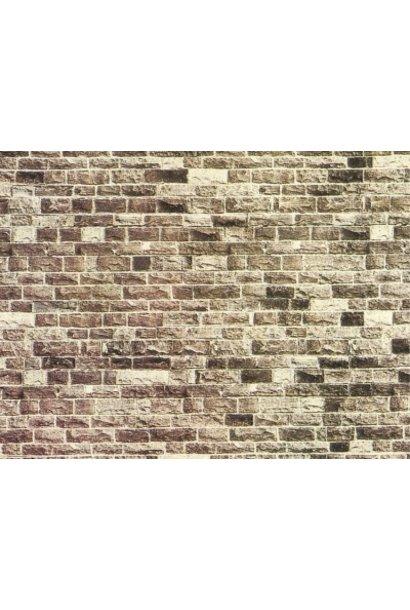 """57530           Mauerplatte """"Basalt"""""""