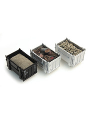 Artitec 487.801.01 - Set1 Lading Daf Containers: Bieten, schroot, zand