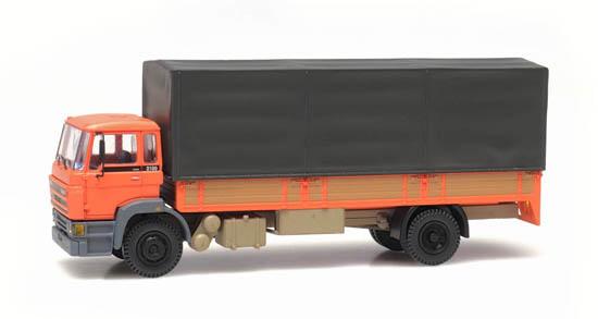 487.053.01 - DAF kantelcabine 1987, huif, oranje-1