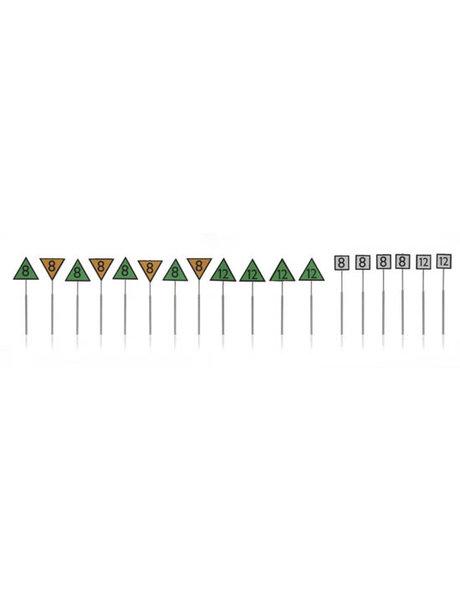 ARTITEC 387.214 NS-borden: snelheidsborden 18 stuks