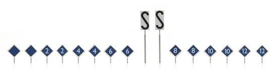 387.213 NS-borden: perron stopplaatsborden 16 stuks-1