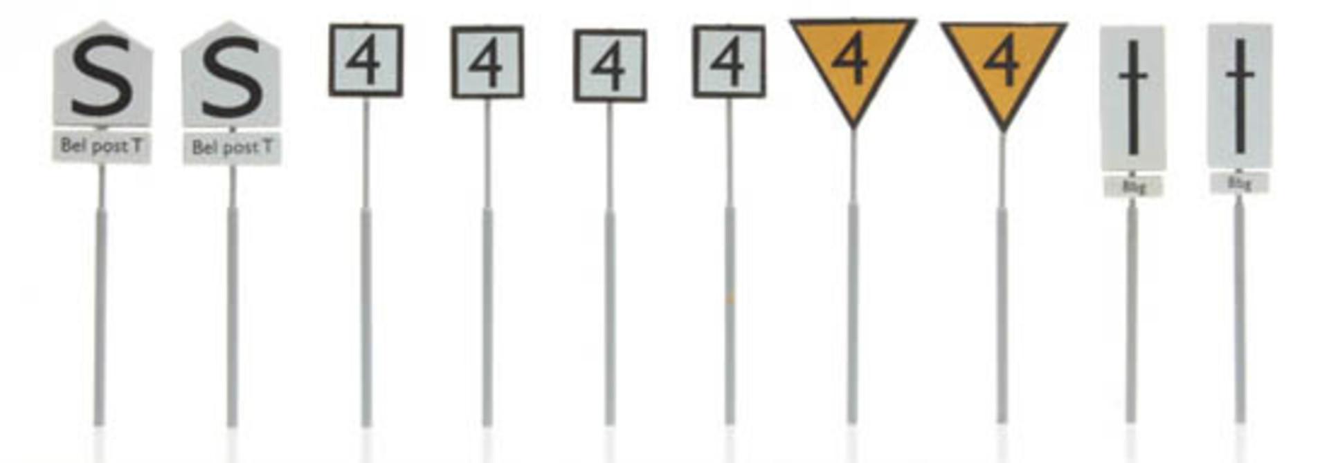 387.211 NS-borden: emplacementborden 10 stuks