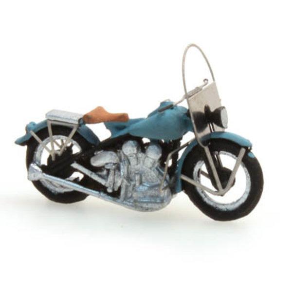 Artitec 387.04-BL - US Motorcycle Liberator, blauw
