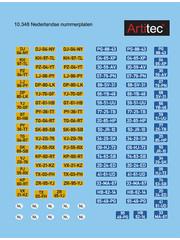 Artitec 10.348 NL Autonummerborden