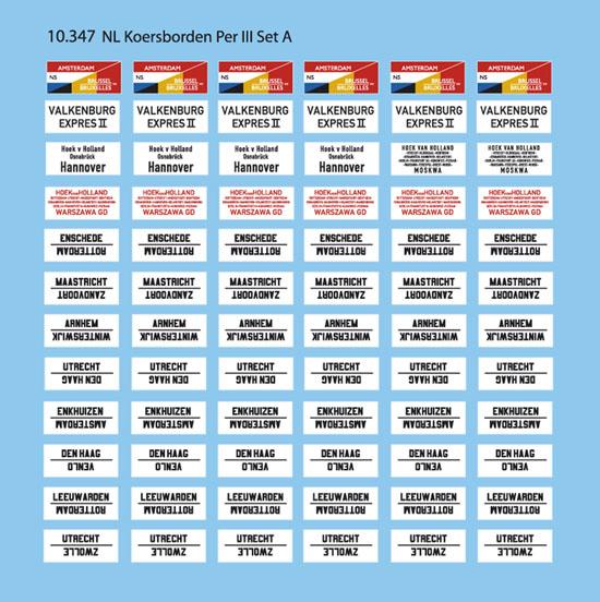 10.347 NL Koersborden per. III set A-1