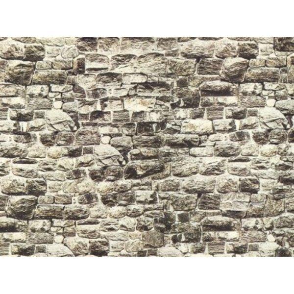 """NOCH      57510           Mauerplatte """"Granit"""""""