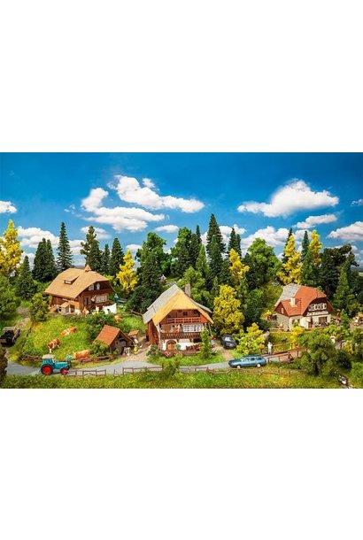 190071 Actieset Zwarte Woud dorp
