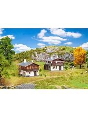 Faller 190162 Actieset met Alpenhuizen