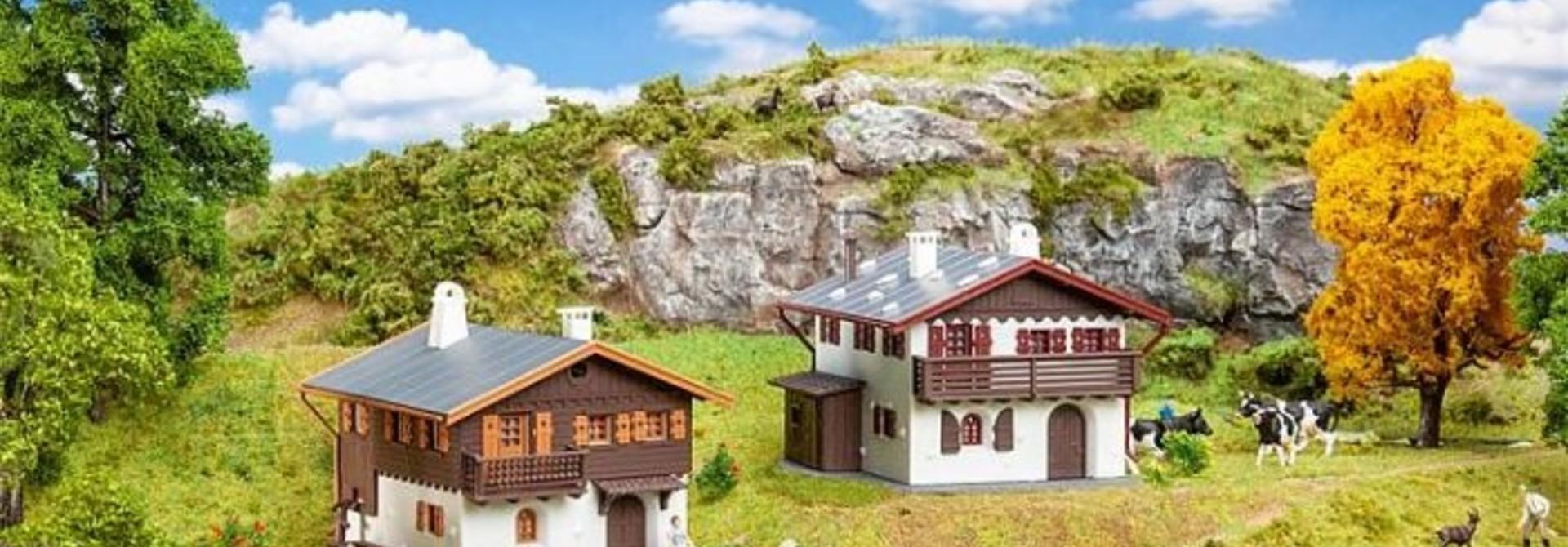 190162 Actieset met Alpenhuizen