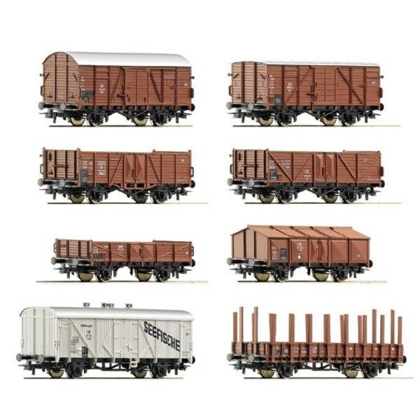 Roco Güterwagenset DB 8 St.