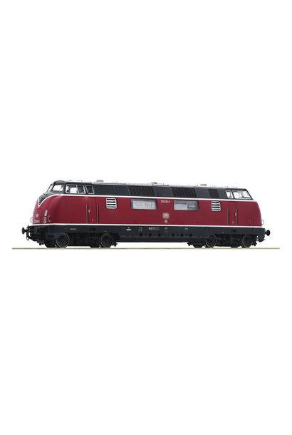 52680 Diesellocomotief Baureihe 220 van de DB DC