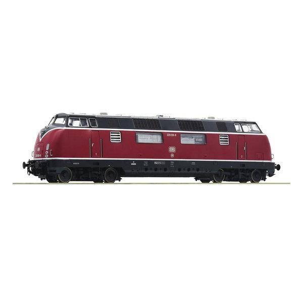 Roco 52680 Diesellocomotief Baureihe 220 van de DB DC